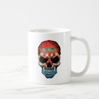 Croatian Flag Skull Mug