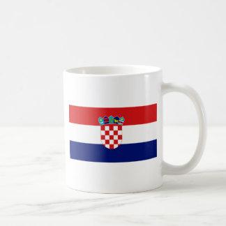 Croatian flag - Trobojnica Basic White Mug