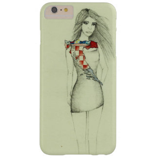 Croatian Girl Barely There iPhone 6 Plus Case