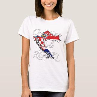 Croatian Girls Rock! T-Shirt