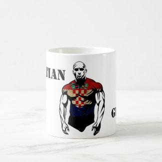 croatian guard basic white mug