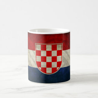 Croatian historic flag mug