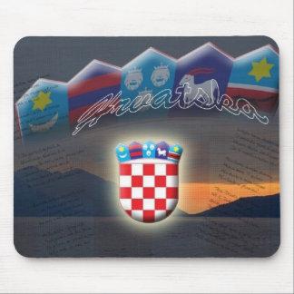 Croatian mouse pad