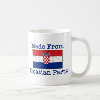 Croatian Parts Basic White Mug