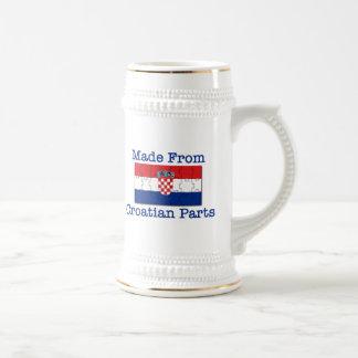 Croatian Parts Beer Steins