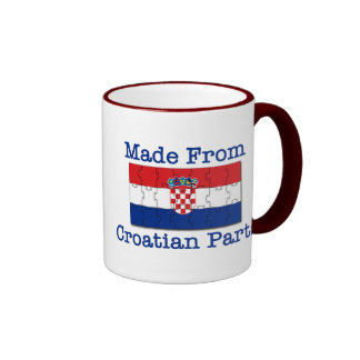 Croatian Parts Ringer Mug