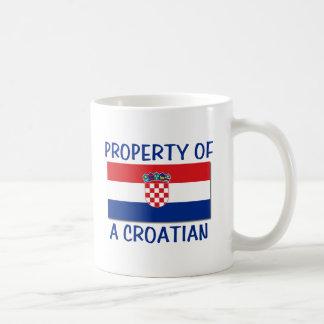 Croatian Property Basic White Mug