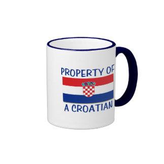 Croatian Property Ringer Mug