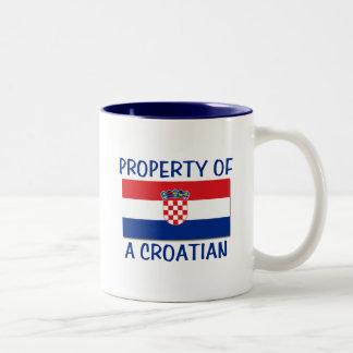 Croatian Property Two-Tone Mug