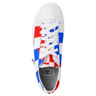 Croatian Shoes Printed Shoes