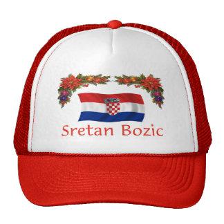 Croatian Sretan Bozic (Merry Christmas) Cap