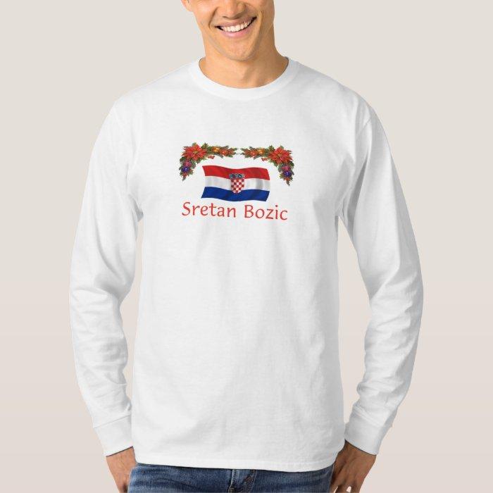 Croatian Sretan Bozic (Merry Christmas) T-Shirt