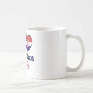Croatians design basic white mug