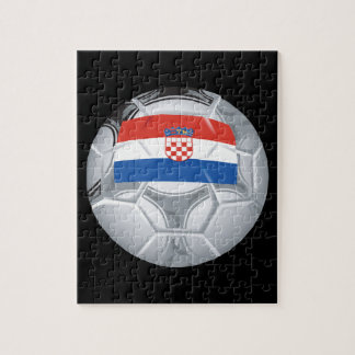 Croation Soccer Ball Jigsaw Puzzle