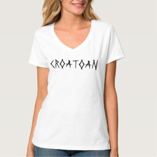 CROATOAN Horror T Shirt