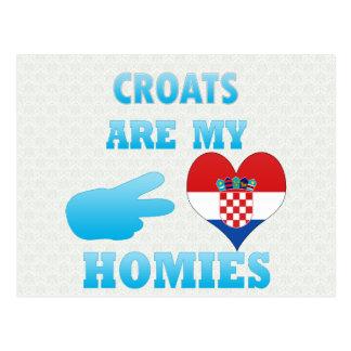 Croats are my Homies Post Card