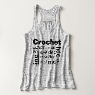 Crochet Abbreviations Tank Top