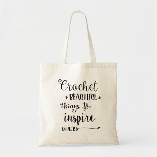 Crochet Beautiful Things Tote Bag