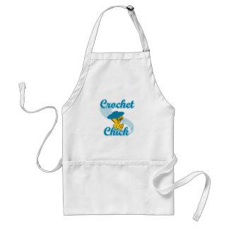 Crochet Chick #3 Standard Apron