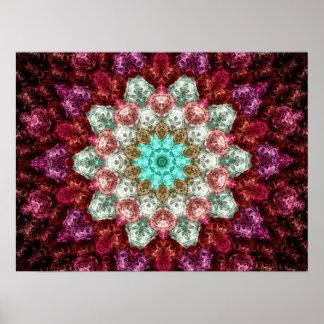 Crochet Flower Poster