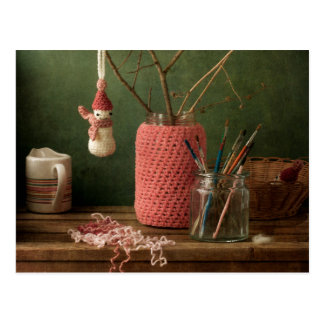 Crochet for Christmas Postcard