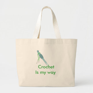 Crochet is my way Tote bag
