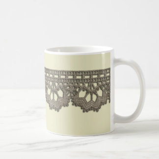 Crochet Lace Coffee Mug