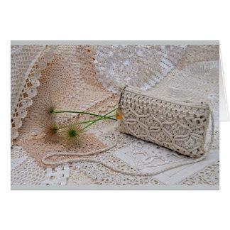 Crochet & Lace & Macrame Card