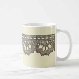 Crochet Lace Mug