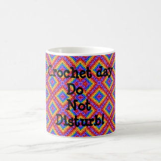 Crochet love coffee mug