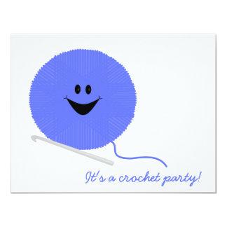 Crochet Party Invitation