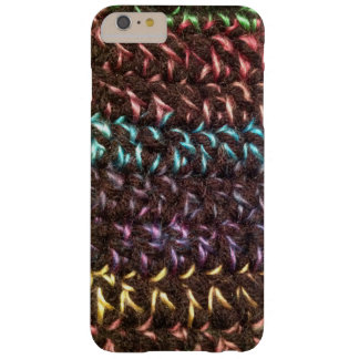 Crochet Rainbow Night Barely There iPhone 6 Plus Case