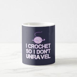 Crochet So I Don't Unravel Coffee Mug