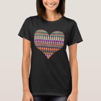 Crochet T-Shirt - Crochet Heart T-Shirt