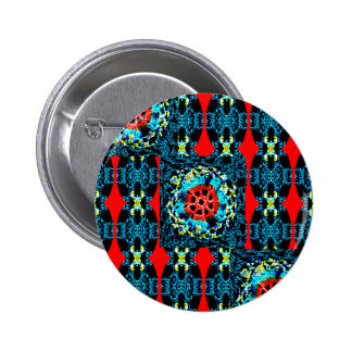 Crocheted Style 6 Cm Round Badge