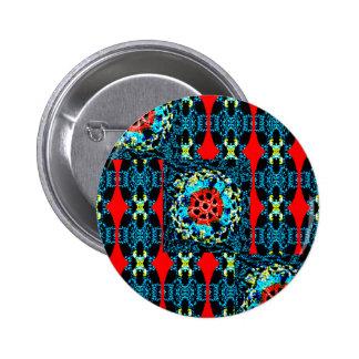 Crocheted Style 6 Cm Round Badge