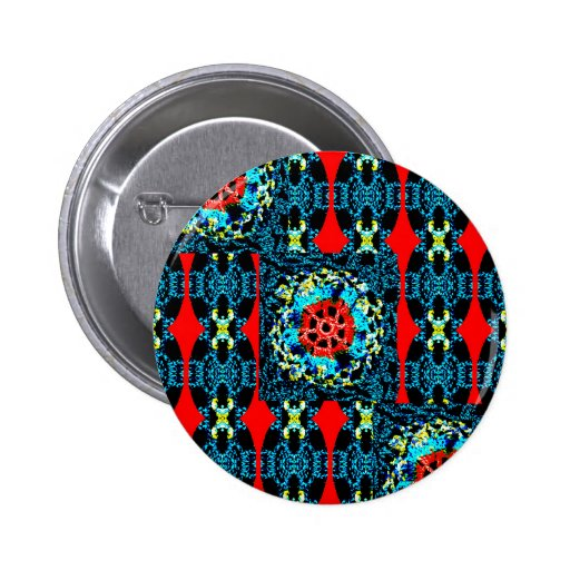 Crocheted Style Pinback Buttons
