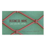 Crocheted Wires - Business Card