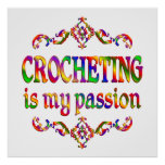 Crocheting Passion Print
