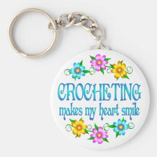 Crocheting Smiles Key Ring