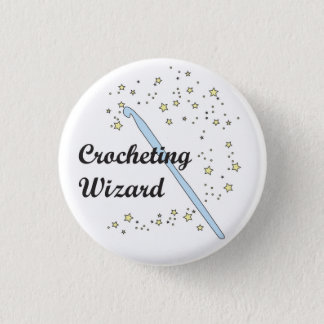 Crocheting Wizard Button
