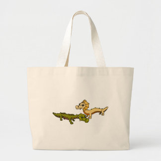 Crocka and Sfinks Canvas Bags