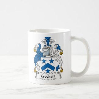 Crockett Family Crest Basic White Mug