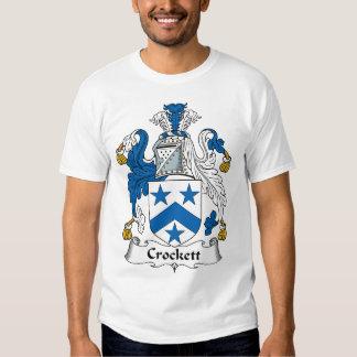 Crockett Family Crest Tshirt