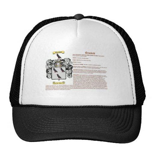 crockett (meaning) hat