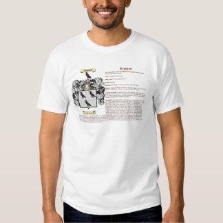 crockett (meaning) t shirts
