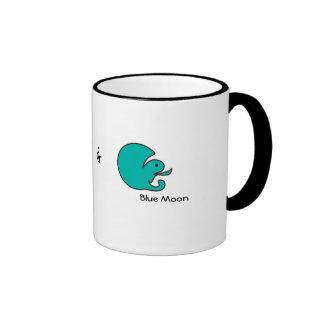 Croco and Blue Moon Coffee Mug