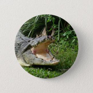 Crocodile 6 Cm Round Badge