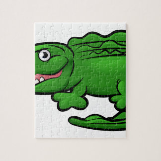 Crocodile Alligator Animal Cartoon Character Puzzles