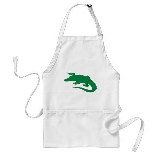 Crocodile Alligator Gator Reptile Apron